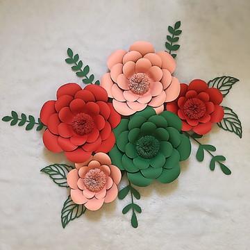 Flores de papel festa mexicana