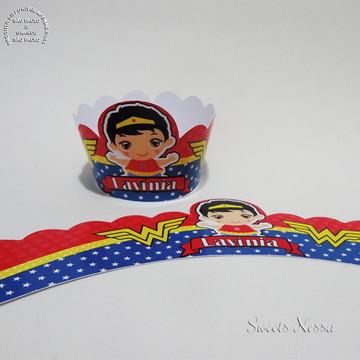 Wrapper (sainha) - Mulher Maravilha Baby