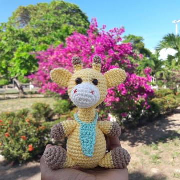 Girafa amigurumi PP