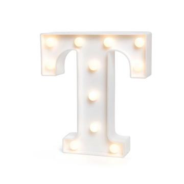 Letra Luminosa * T* / 3D Led