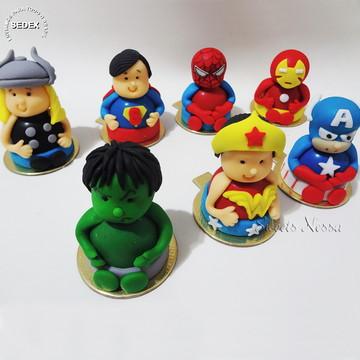 Trufas Super Heróis 3D