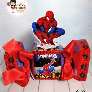 caixa Bala homem aranha