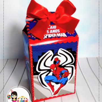 caixa Milk homem aranha modelo 02