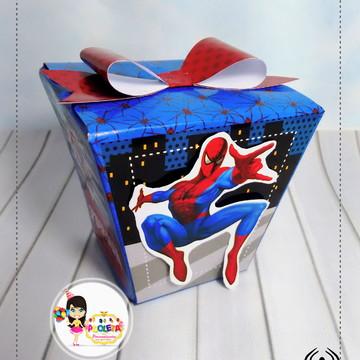caixa sushi homem aranha