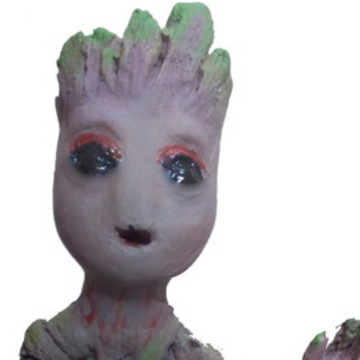 Baby Groot guardiões galáxia