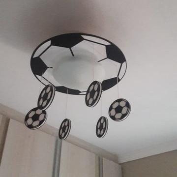 Luminária infantil futebol