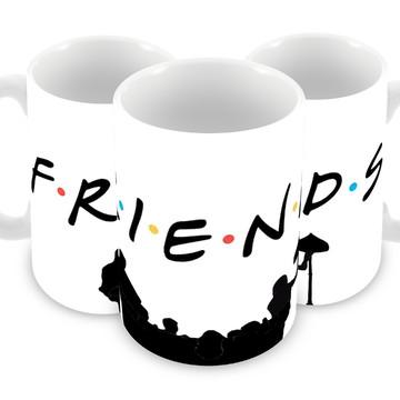 Caneca Seriado Friends De Plástico