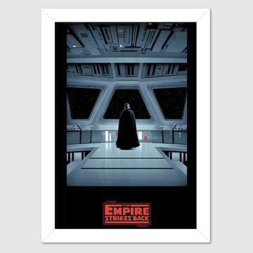 Quadro decorativo Saga Star Wars O Império Contra-Ataca