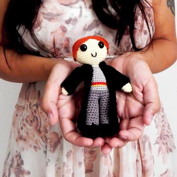 Amigurumi - Boneco Harry Potter - Ron Weasley