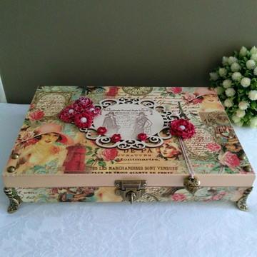 Porta jóias Dama vintage