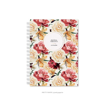 Pretty Planner - Watercolor Roses