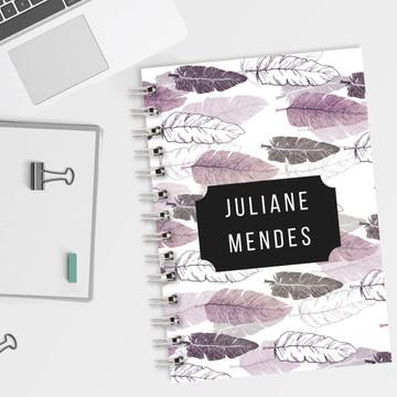 Caderno Pautado Boho 2019