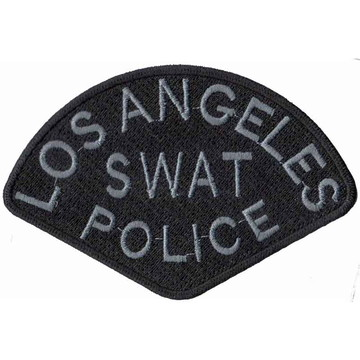 Patch Bordado - Tarja Swat Policia Los Angeles PL60050