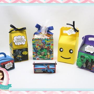 Kit Festa Lego Super Heróis