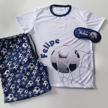 Pijama masculino futebol, festa do pijama