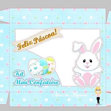 Arquivo digital para Corte 2 caixas mini confeiteiro Páscoa