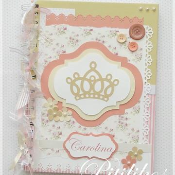 Diário do Bebê - Princesa