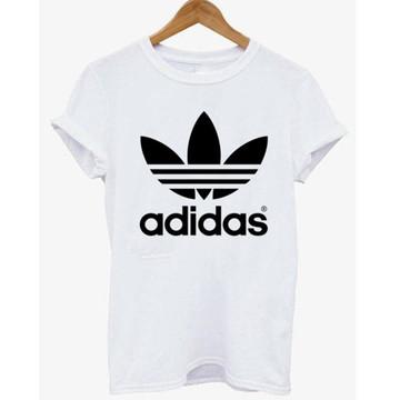 2b253596710 Camisa Adidas Feminina Branca