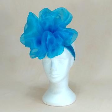 Acessório de Carnaval 2019_139_Azul flor grande