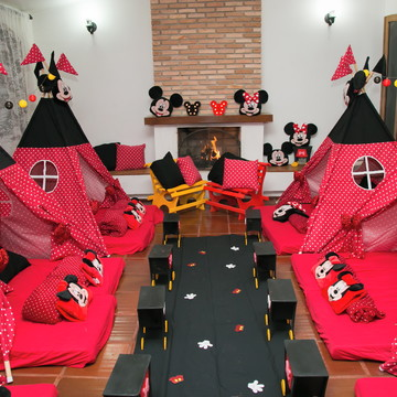 Festa do Pijama Mickey - Minnie