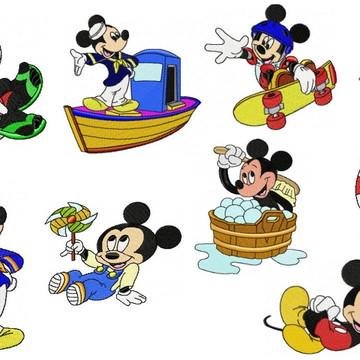 Mickey 9 Matrizes - PES/JEF/XXX/DST