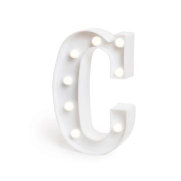 Letra Luminosa *C* / 3D Led