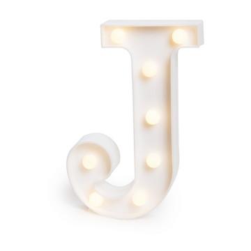 Letra Luminosa * J * / 3D Led