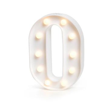Letra Luminosa * O * / 3D Led