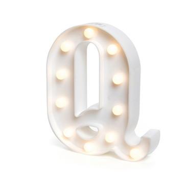 Letra Luminosa * Q * / 3D Led