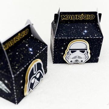 Caixa Retangular Star Wars