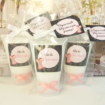 Bisnaga Hidratante chá de lingerie