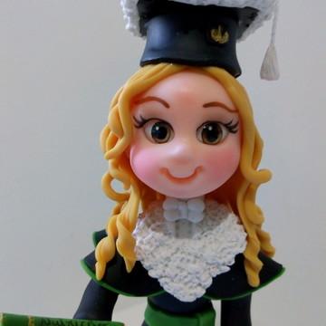 Formanda em biscuit