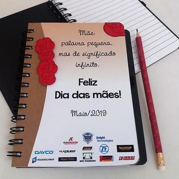 Caderno e Lápis Personalizado Datas Comemorativas e Eventos