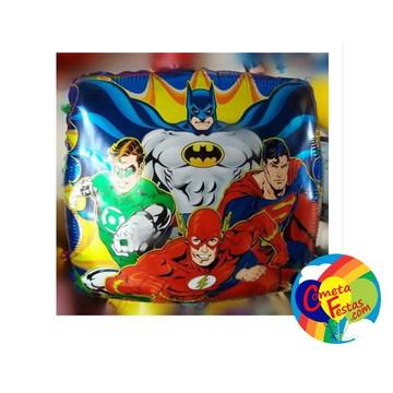 Balão metalizado Liga da Justiça (menor preço)