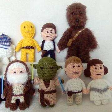 Personagens Star Wars Amigurumi
