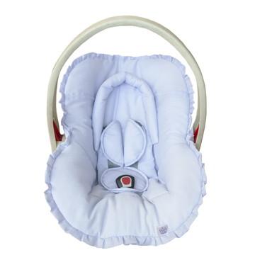 Capa bebê conforto Protetor de Cabeça Azul Claro