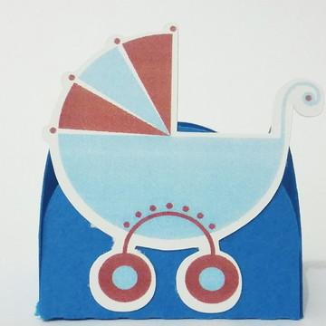 Forminha Chá de Bebê - Carrinho