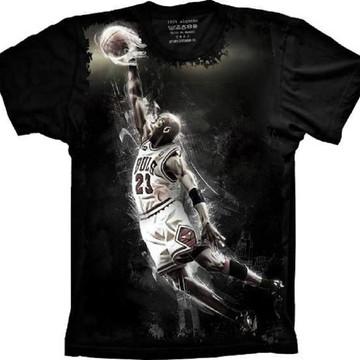 cfa82f4d902 Camiseta Chicago Bulls Basquete Michael Jordan