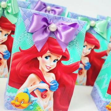 Sacolinha Pequena Sereia Ariel