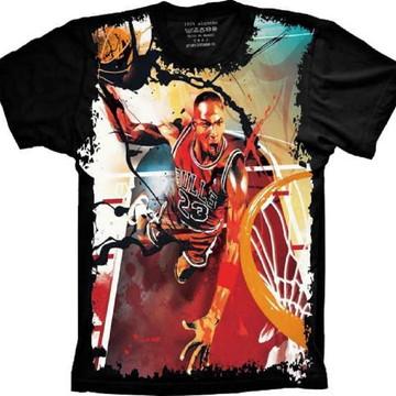 58431e22eb2 Camiseta Chicago Bulls Basquete Michael Jordan