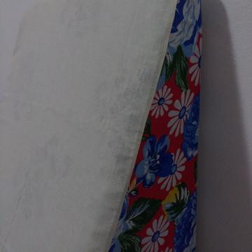 Capa para triangulo de espuma-tecido cru