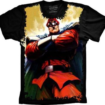 Camiseta Street Fighter M. Bison