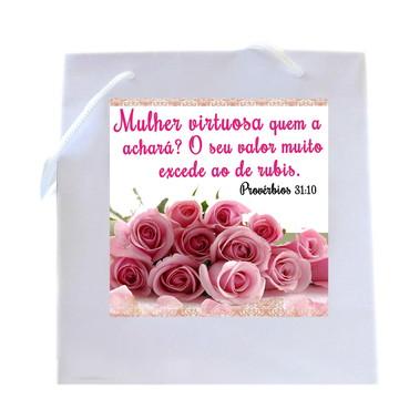 Sacola Personalizada - Lembrancinha para Igreja - Evangélica