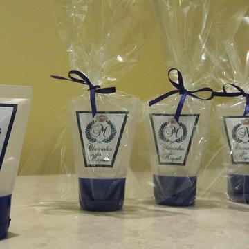 Bisnaga com sabonete liquido - Etiqueta personalizada