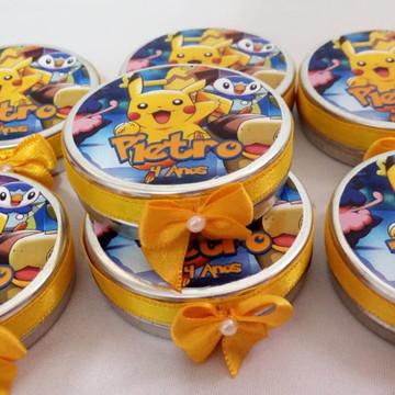 Lembrancinha Latinha Personalizada -Pokémon