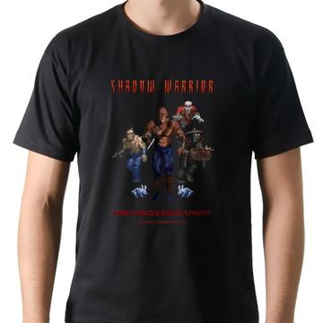 Camiseta Geek Games Shadow Warrior