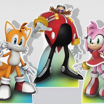 Cenário de Mesa Sonic