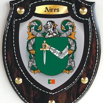 Brasão Modelo Escudo - AIRES / AYRES (Portugal)