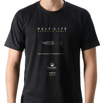 Camiseta Geek Games Half-Life Opposing Force