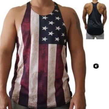 ff28529e78 Camiseta Regata Usa Preto